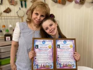 Маша стала Лауреатом II степени